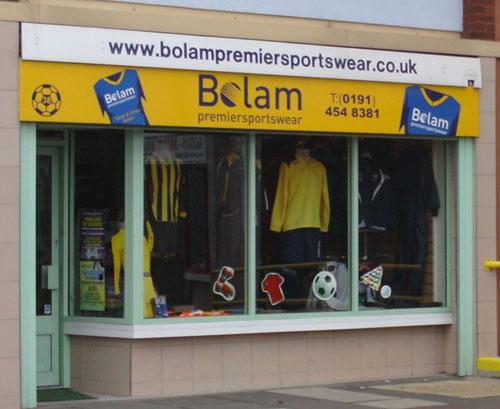 Bolam Premier Sportswear Shop South Shields picture