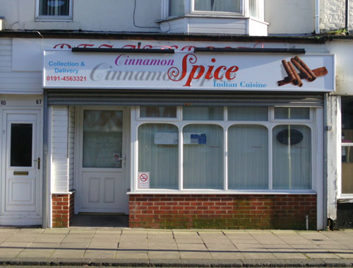 Cinnamon Spice South Shields Picture