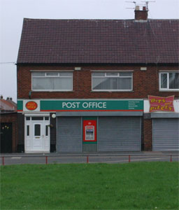 Edinburgh Road Post Office Jarrow Picture