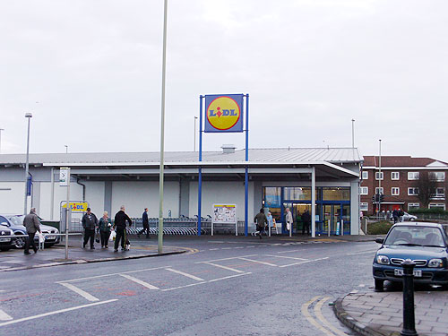 Lidls Shop South Shields Picture