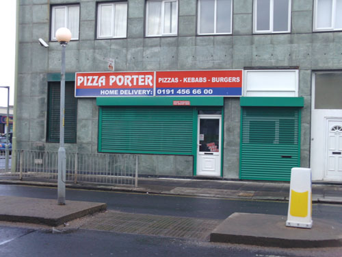Pizza Porter takeaway Laygate South Shields Picture