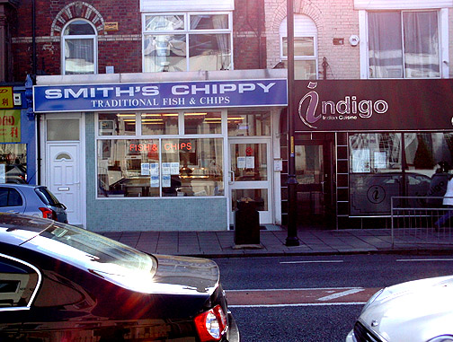 Billy Smiths Chippy Picture