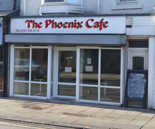 The Phoenix Cafe South Shields Picture