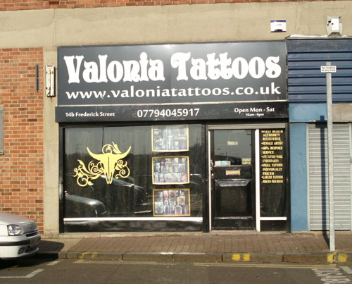 Valonia Tattoos Studio South Shields Picture