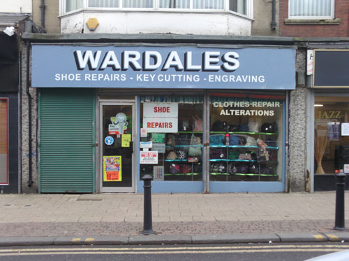 Wardales Shoe Repairs frederick Street South Shields Picture