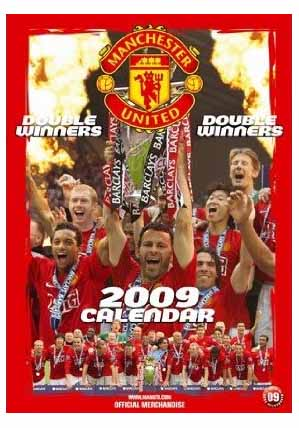 2009 Photo Calenders - Manchester United FC Football Club ...