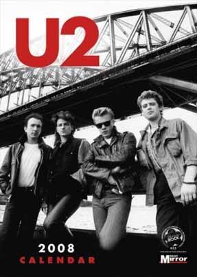photo of U2 calendar